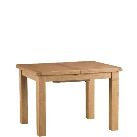 Oslo Oak 100cm Extending Dining Table